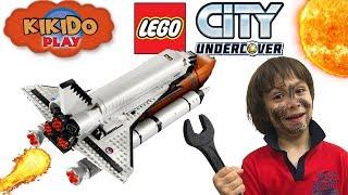 LEGO CITY UNDERCOVER УГНАЛИ КОСМИЧЕСКИЙ ШАТТЛ  Видео для детей Новое Прохождение Кикидо  плей