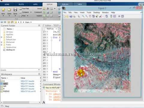 Satellite Image Processing with MATLAB