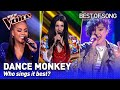 Tones and I's Dance Monkey in The Voice   Who sings it best? #2 MP3