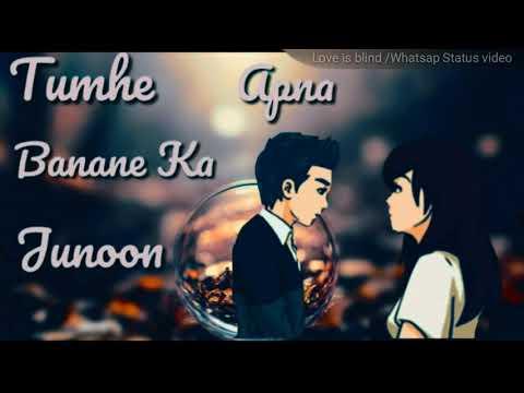Tumhe Apna Banane Ka junoon Sar Pe Hai Whatsap Status video