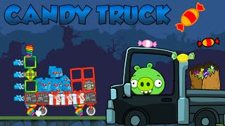 CANDY TRUCK! - Bad Piggies Inventions
