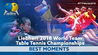 Best Moments of #ITTFWorlds2018