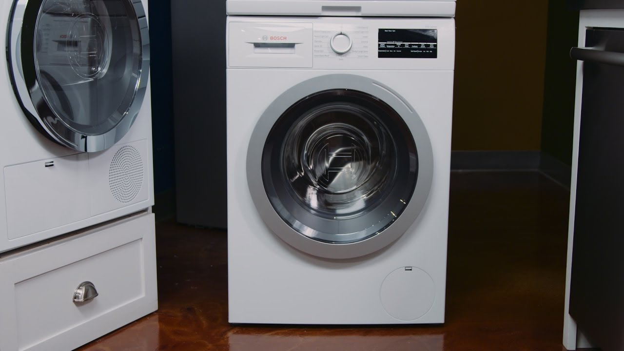 bosch washer dryer. Bosch 500 Series Compact Washer \u0026 Condensation Dryer