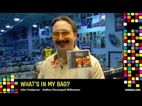 John Hodgman - What's In My Bag?