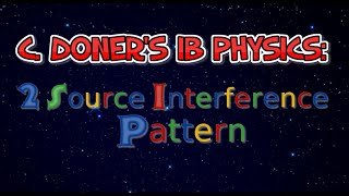 IB Physics: The Two Source Interference Pattern