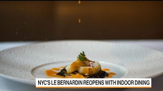 Chef Eric Ripert Reopens Le Bernardin in New York