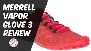 Merrell Vapor Glove 3 full review   Minimalist running shoe review