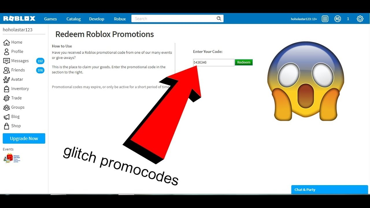 new promocodes Glitch 2018 roblox give you free ITEMS ... on Promo Code Roblox id=99523