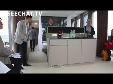aquaTURM : Erste Niedrigenergie Turm der Welt: Radolfzell am Bodensee, 01.04.2017