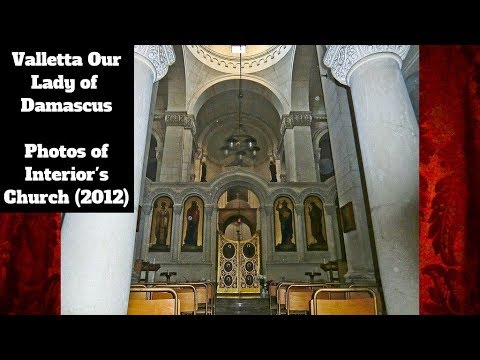 Valletta Our Lady of Damascus - Sunday Mass 2012 - 1 Peal (1,2,3) - Photos - 3 Bells / 2