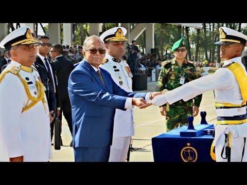 Bangladesh Navy- Full Passing out Parade,2001-B Batch