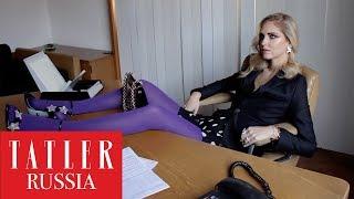 Модный блогер Кьяра Ферраньи – героиня мартовской обложки Tatler