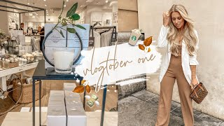 VLOGTOBER | COME AUTUMN FASHION & HOMEWARE SHOPPING WITH ME MANCHESTER