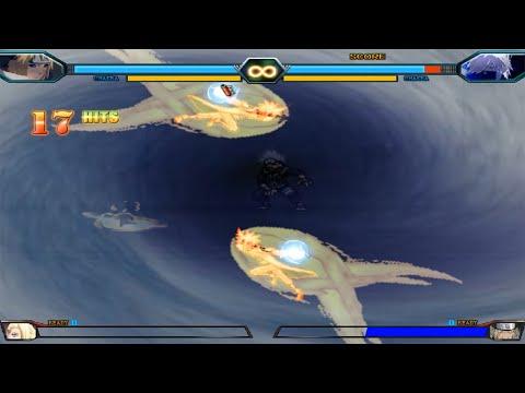 New Minato VS Kakashi Hatake - Bleach Vs Naruto 3.3 (Modded)