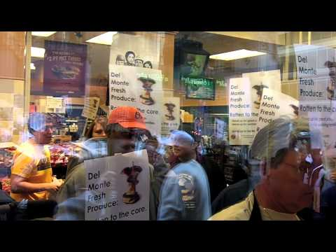 """Raw footage from """"pineapple protest"""" at Love Park"""