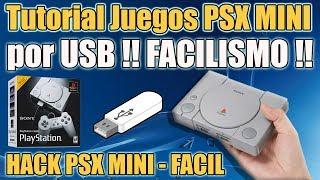 Playstation Classic Mini cargar juegos por USB