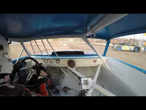 Thunderbird Speedway   Street Stock Feature 6/11/16   GoPro In-Car Camera #23H