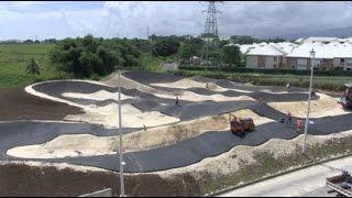 Une piste de BMX en Guadeloupe