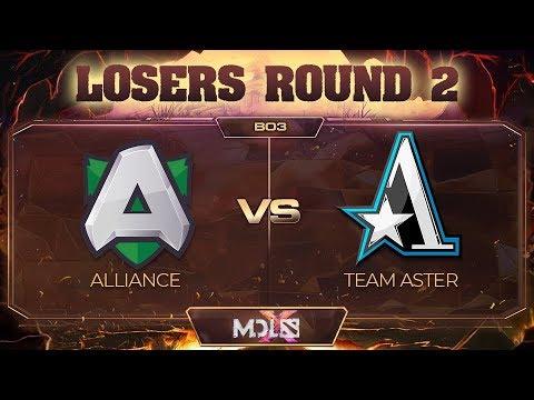 Alliance vs Team Aster vod