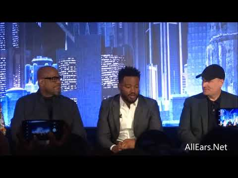 """Black Panther"" Press Junket"