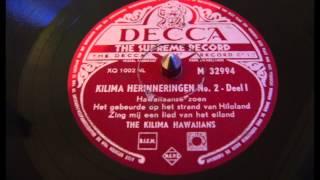 Kilima Herinneringen No. 2 - Deel I - 78 toeren
