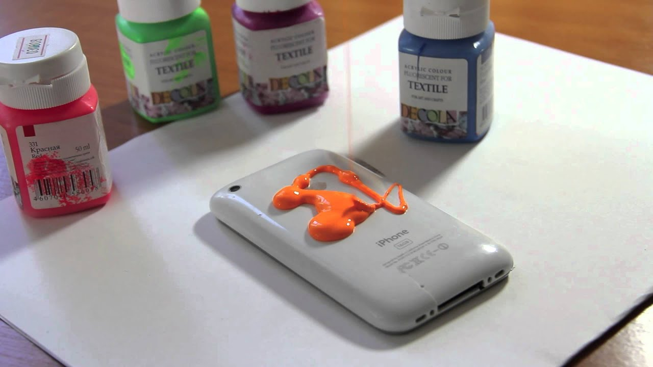 Покрасить корпус телефона своими руками