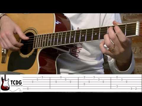 Aprender Como Tocar Nothing Else Matters (Metallica) Estrofa Guitarra Acústica #1 TCDG