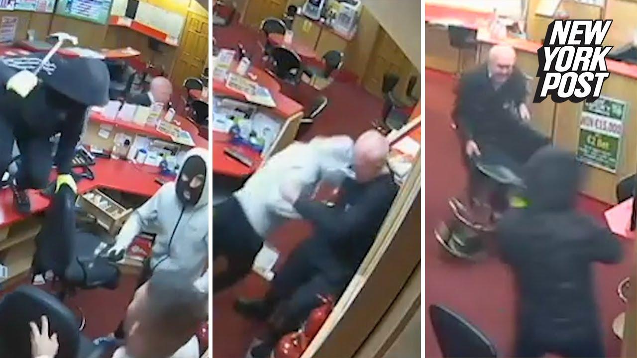 83-year-old fought off armed robbers - የ83 ዓመት እድሜ አዛውንቱ ለጥቃት መዶሻ እና ጠመንጃ ይዘው ወደመደብራቸው የገቡትን ሌባዎን መክ