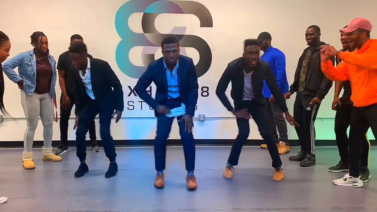 New year's Dance class ft Uncle Azeez and Jollof Boys
