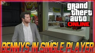 Gta Online - How To Get The Low Rider Update In Single Player, Bennys Motor Works In Single Player