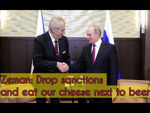 Czech President Zeman Tо Putin: Russia is 10 times more important for Czechia than France