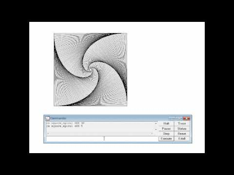 MSW Logo - Square Spiral Animation