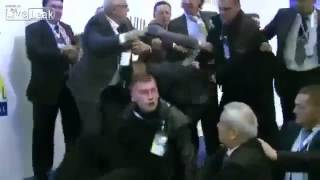 Ahmed Dogan Assassination Attempt. INCREDIBLE VIDEO - Bulgarian Prime Minister