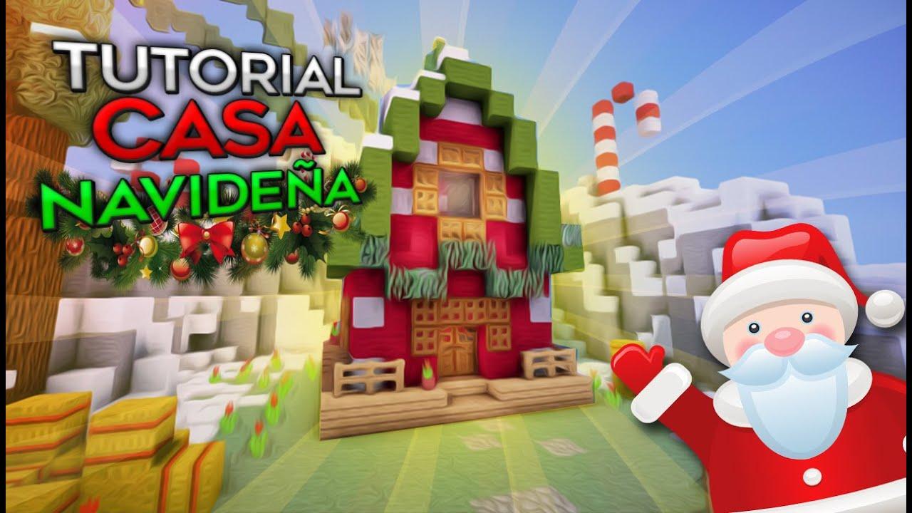 Minecraft como hacer una casa caba a navide a by - Como construir una cabana ...