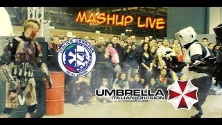 Cartoomics 2016 - Mash up Live Action - 501st Italica Garrison - Umbrella Italian Division
