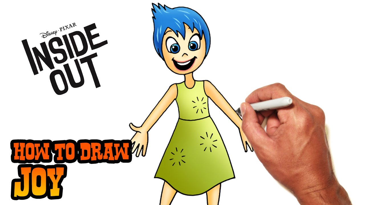 How To Draw Joy Inside Out Youtube