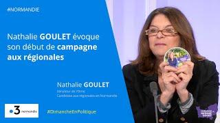 Nathalie Goulet revient sur le début de sa campagne pour les régionales en Normandie.
