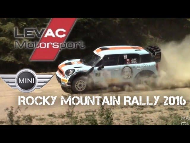 LEVAC MOTORSPORTS MINI AT ROCKY MOUNTAIN RALLY (PURE SOUND!)