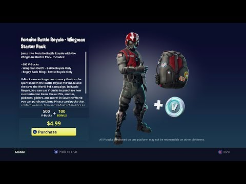 Fortnite: Wingman Character Starter Pack - DLC (Xbox One)