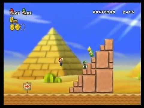 ตัวอย่าง เกมส์ ซุปเปอร์มาริโอ้ Bros