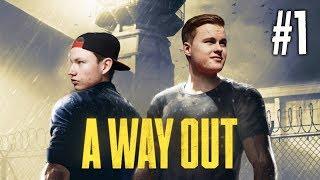 ONTSNAPPEN UIT DE GEVANGENIS!! - A Way Out Storyline #1 (Nederlands)