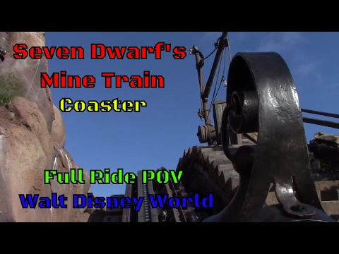 Seven Dwarfs Mine Train POV at Walt Disney World
