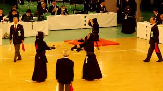 65th All Japan Kendo Championship 12   Round 1, Ichikawa vs Kanezawa