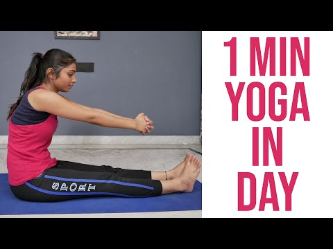 One Minute Yoga For Day