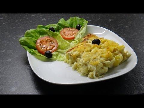 Bacalhau Com Natas (Cod Fish With Cream)