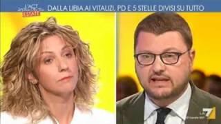 Barbara Lezzi: L'aria che tira  #La7  (02 agosto 2017)
