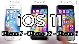 a nagy ios 11 teszt iphone 7 vs 6s vs 6
