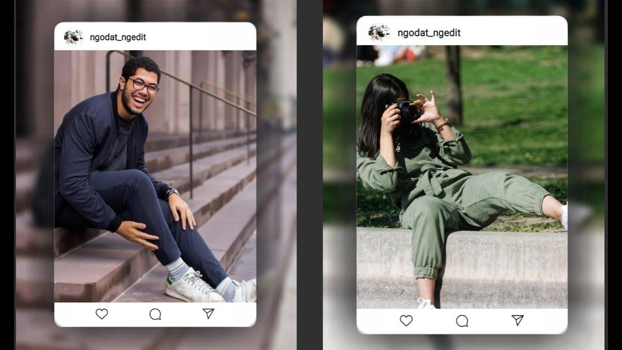 PicsArt Instagram Post | Cara edit foto di picsart I ...