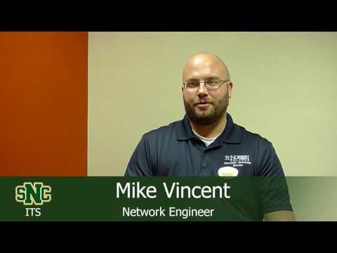 Mike Vincent, Network Engineer