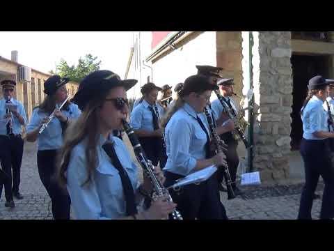 Carvalhal, 29 Julho 2018. Banda Filarmónica Felgar. - Maestro Carlos Costa.